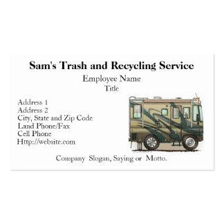 Cute Happy Camper Big RV Coach Motorhome Business Card