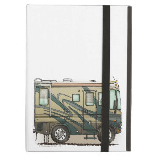 Cute Happy Camper Big RV Coach Motorhome iPad Air Cover