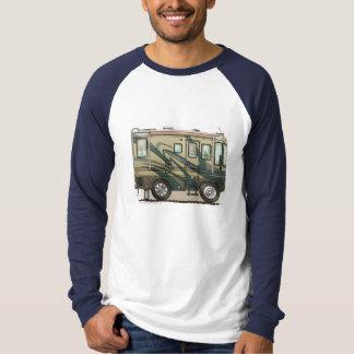 Cute Happy Camper Big RV Coach Motorhome T-Shirt