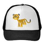 Cute Happy Cartoon Cheetah Hat