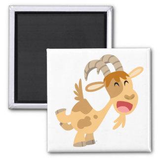 Cute Happy Cartoon Goat Magnet