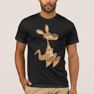 Cute Happy Cartoon Kangaroo T-Shirt