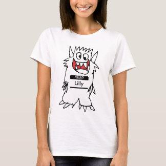 Cute Happy Cartoon Monster Tshirt
