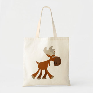 Cute Happy Cartoon Moose Bag