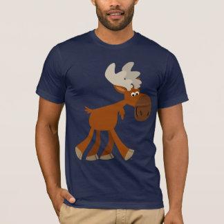 Cute Happy Cartoon Moose T-Shirt