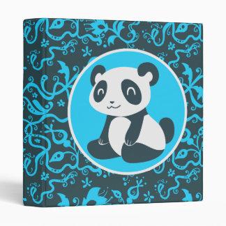 Cute Happy Cartoon Panda Binder