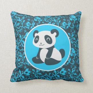 Cute Happy Cartoon Panda Pillows