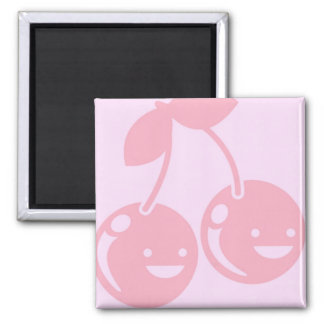 Cute Happy Cherries Magnet