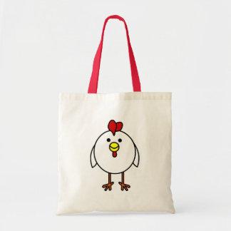 Cute Happy Chicken Canvas Bag