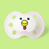 Cute Happy Chicken Face Pacifier