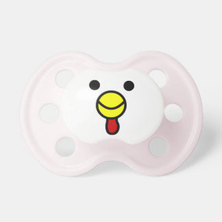 Cute Happy Chicken Face Pacifiers