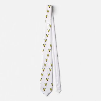 Cute Happy Chicken Head Neck Tie