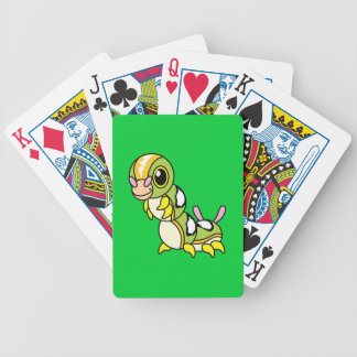 Cute Happy Colorful Caterpillar Bicycle Playing Cards