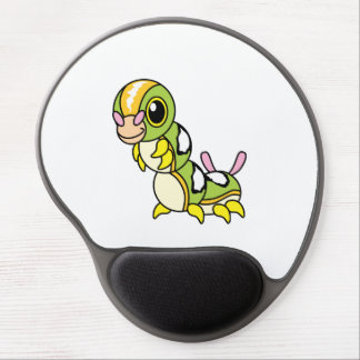 Cute Happy Colorful Caterpillar Gel Mouse Pad