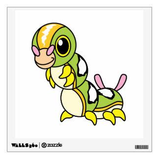 Cute Happy Colorful Caterpillar Wall Sticker