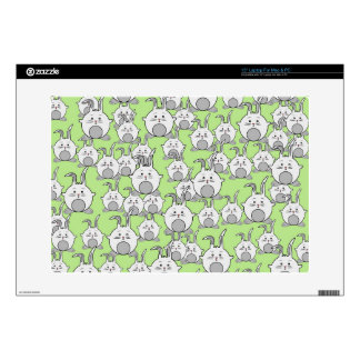 cute happy crowd skin for laptop