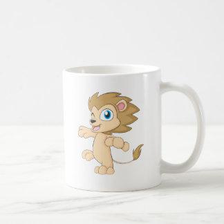 Cute Happy Dancing Baby Lion Cub Shirt Coffee Mug