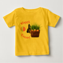 Cute Happy Easter Baby T-Shirt