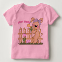 Cute Happy Easter Bunny Baby T-Shirt