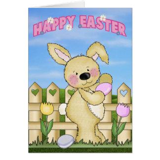 Cute Happy Easter Card