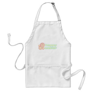 "Cute ""Happy Easter"" design Aprons"