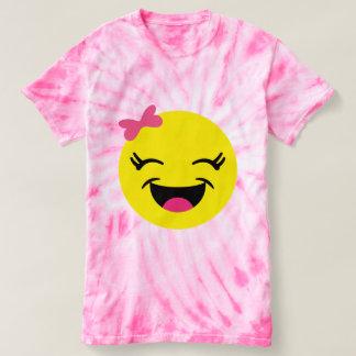 Cute & Happy Emoji Girl T-shirt