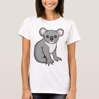 Cute Happy Grey Koala Drawing T-shirt