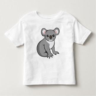 Cute Happy Grey Koala Drawing Toddler Unisex Shirt