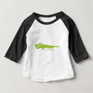 Cute happy hand-drawn Croc Baby T-Shirt