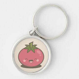 Cute Happy Kawaii Tomato Keychain