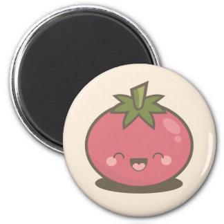 Cute Happy Kawaii Tomato Magnet