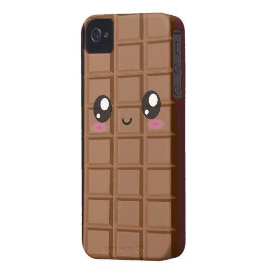 Cute Happy Milk Chocolate bar iphone 4 case