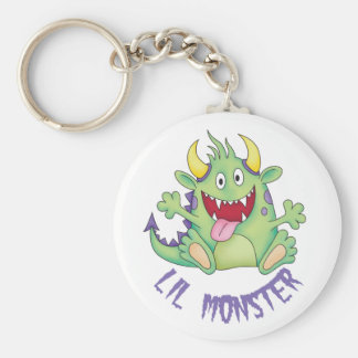 cute happy monster key chains