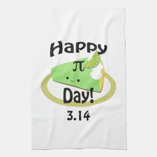 Cute Happy Pi Day Hand Towel