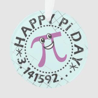 Cute Happy Pi Day Ornament