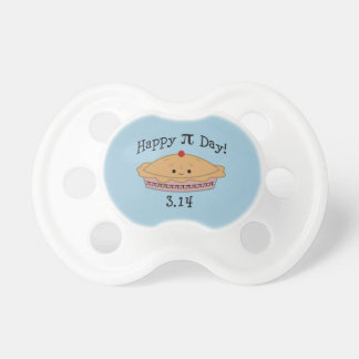 Cute Happy Pi Day! Pacifier