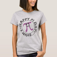 Cute Happy Pi Day © Purple Pi Symbol T-Shirt