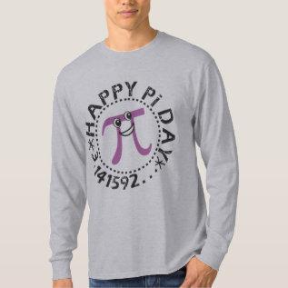 Cute Happy Pi Day © Tshirts - Pi Symbol at Zazzle