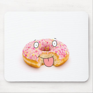 Cartoon Donut Mouse Pads | Zazzle