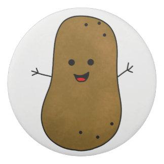 Cute Happy Potato Eraser