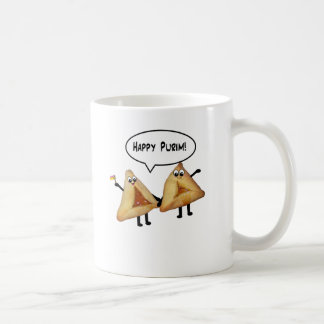 Cute Happy Purim Hamantaschen Coffee Mug