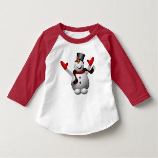 Cute Happy Snowman Shirt