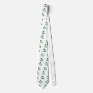 Cute Happy St. Patrick's Day Lucky Celebrate Print Neck Tie