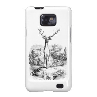 Cute Happy Stag In The Forest Galaxy SII Covers