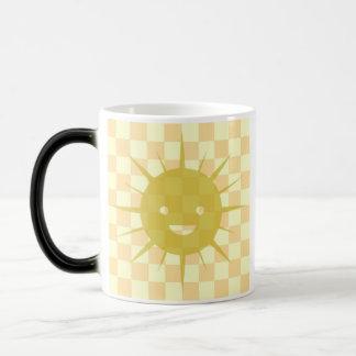 Cute Happy Sun 11 Oz Magic Heat Color-Changing Coffee Mug