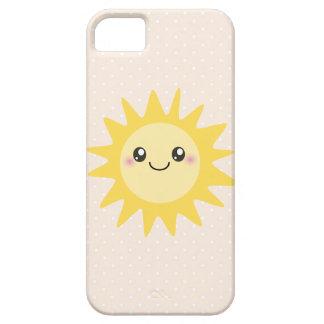 Cute Happy Sun iPhone 5 Cases