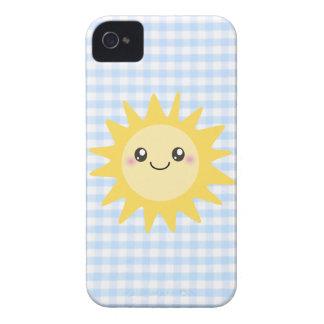 Cute Happy Sun iPhone 4 Case-Mate Cases