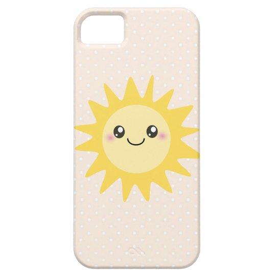 Cute Happy Sun iPhone SE/5/5s Case