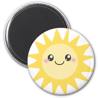 Cute Happy Sun Magnets