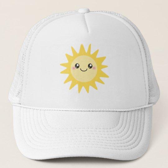 Cute Happy Sun Trucker Hat